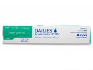 Dailies AquaComfort Plus Toric (90lentile) - vizualizare parametrii