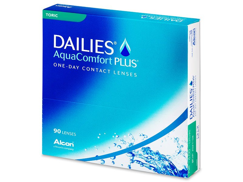 Dailies AquaComfort Plus Toric (90lentile) - Lentile de contact pentru astigmatism