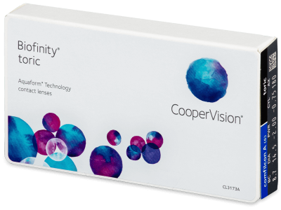 Biofinity Toric (6lentile)