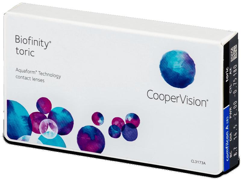 Biofinity Toric (6lentile) - Lentile de contact pentru astigmatism