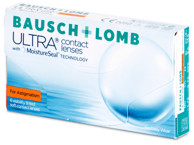 Bausch + Lomb ULTRA for Astigmatism (6 lentile)