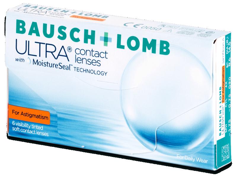 Bausch + Lomb ULTRA for Astigmatism (6 lentile) - Lentile de contact pentru astigmatism