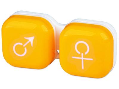 Suport pentru lentile man&woman -galben