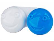 Suport pentru lentile de contact - diferite culori și modele - Suport pentru lentile 3D - albastru