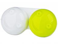Suport pentru lentile de contact - diferite culori și modele - Suport pentru lentile 3D- verde