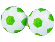 Suport pentru lentile de contact - diferite culori și modele - Suport pentru lentile Football - verde