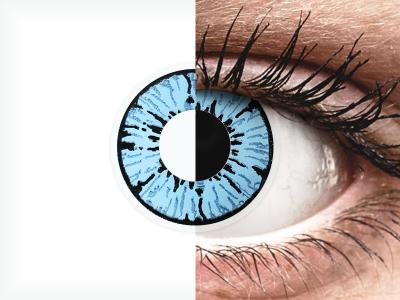 ColourVUE Crazy Lens - Blizzard - plano (2lenses)