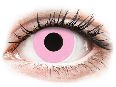 ColourVUE Crazy Lens - Barbie Pink - plano (2 lenses)