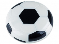 Set pentru lentile de contact - Casetă cu oglindă Football - neagră