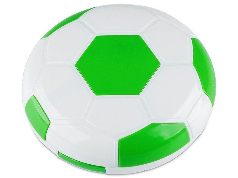 Casetă cu oglindă Football-verde  - Casetă cu oglindă Football-verde