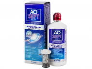 Lentile de contact Alcon - Soluție AO SEPT PLUS HydraGlyde 360 ml