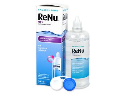 soluție de curățare - Soluție ReNu MPS Sensitive Eyes 360 ml