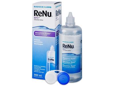 Soluție ReNu MPS Sensitive Eyes 360 ml  - design-ul vechi