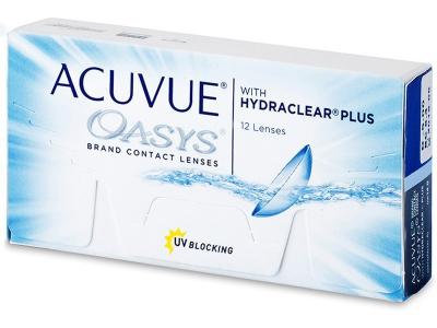Bi-weekly contact lenses - Acuvue Oasys (12 lentile)
