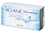 Lentile de contact Johnson and Johnson - Acuvue Oasys (24 lentile)