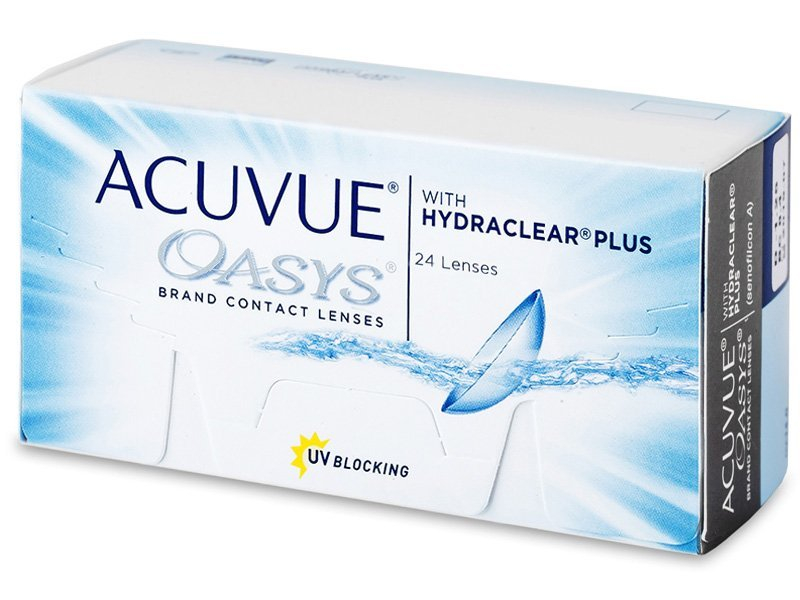 Acuvue Oasys (24 lentile) - Bi-weekly contact lenses