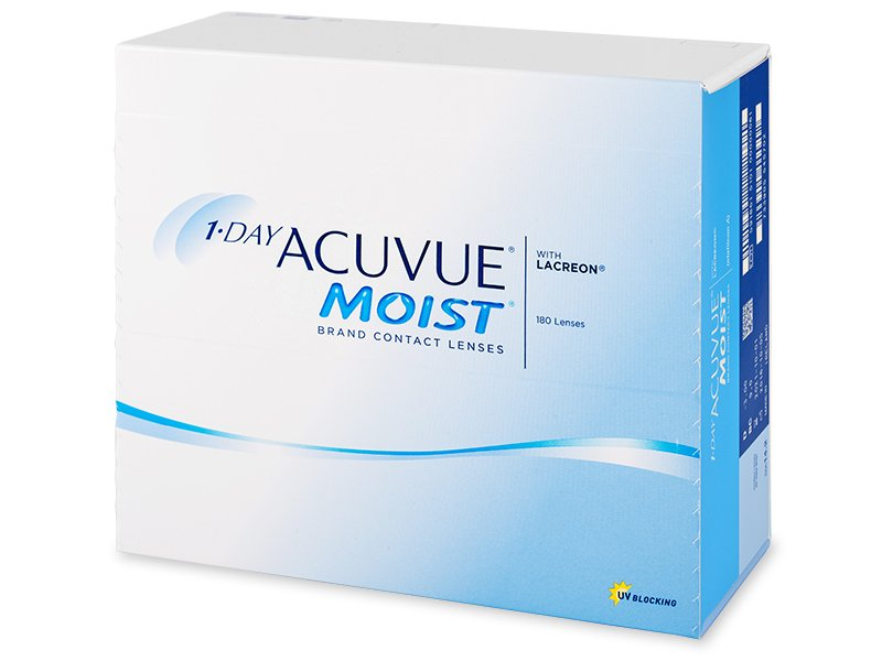 1 Day Acuvue Moist (180lentile) - Lentile zilnice