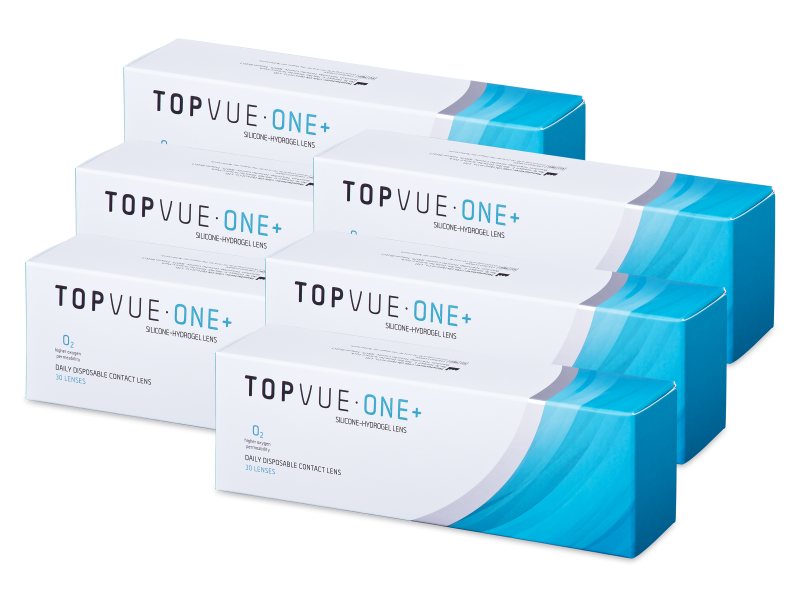TopVue One+ (180 lenses) - Lentile zilnice