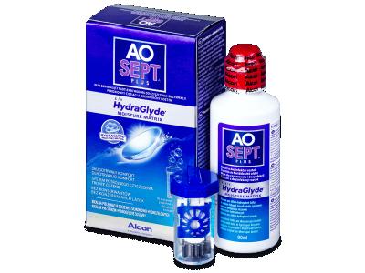 Soluție AO SEPT PLUS HydraGlyde 90ml