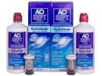 Soluție AO SEPT PLUS HydraGlyde 2x360ml  - Pachet economic dublu-soluții