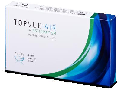 TopVue Air for Astigmatism (3lentile) - Lentile de contact pentru astigmatism