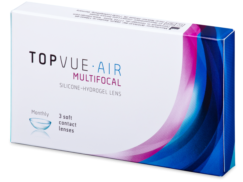 TopVue Air Multifocal (3 lentile)
