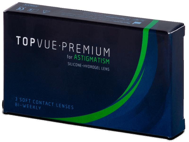 TopVue Premium for Astigmatism (3lentile) - Lentile de contact pentru astigmatism