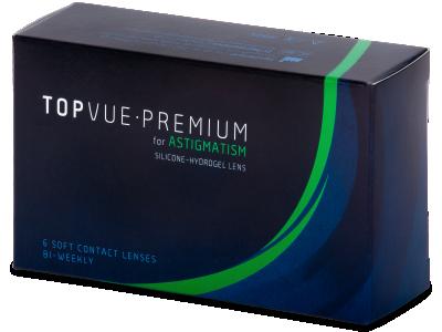 TopVue Premium for Astigmatism (6lentile)