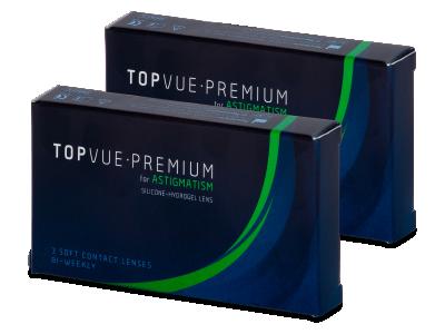 TopVue Premium for Astigmatism (6lentile) - Lentile de contact pentru astigmatism