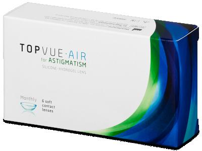 TopVue Air for Astigmatism (6lentile)