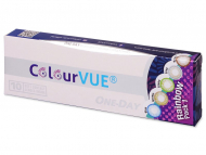 Lentile de contact colorate - ColourVue One Day TruBlends Rainbow (10 lentile)