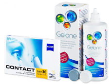 Carl Zeiss Contact Day 30 Spheric (6lentile) + SoluțiaGelone360ml