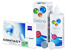 Carl Zeiss Contact Day 30 Compatic (6lentile) + SoluțiaGelone360ml
