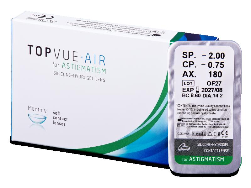 TopVue Air for Astigmatism (1 lentilă)