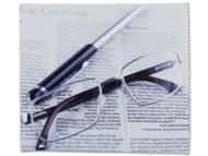Ingrijirea ochelarilor - Lavetă pentru curățat ochelarii - ziar