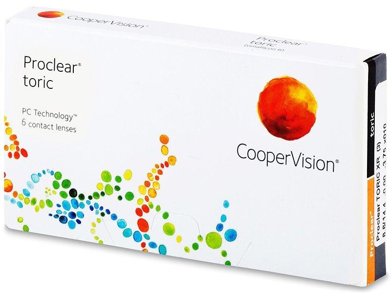 Proclear Toric XR (6 lentile) - Lentile de contact pentru astigmatism