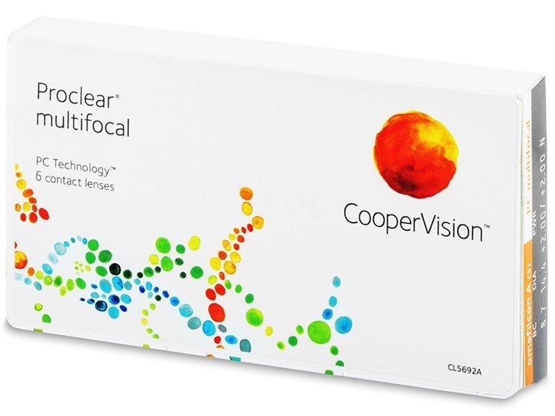 Proclear Multifocal XR (6 lentile) - Lentile de contact multifocale