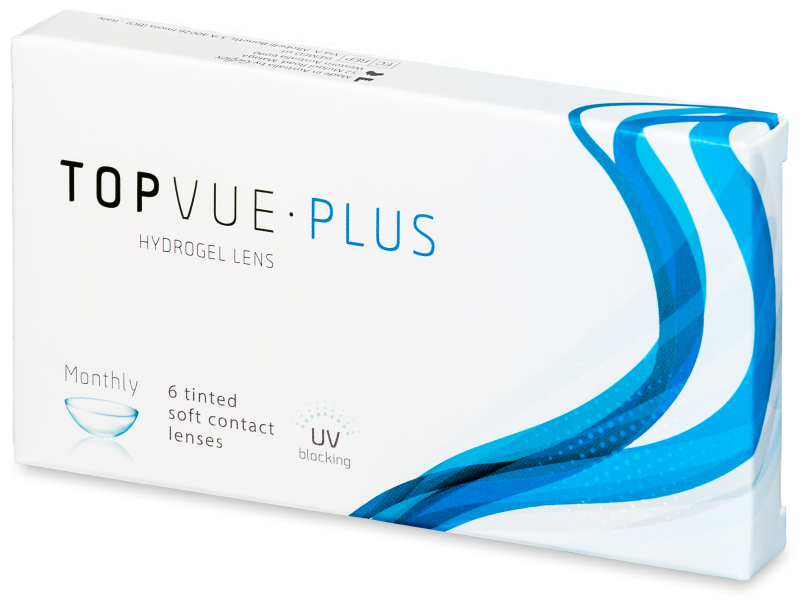 TopVue Monthly Plus (6 lentile) - Lentile de contact lunare