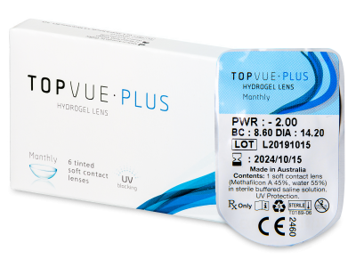 TopVue Monthly Plus (1 lentilă)