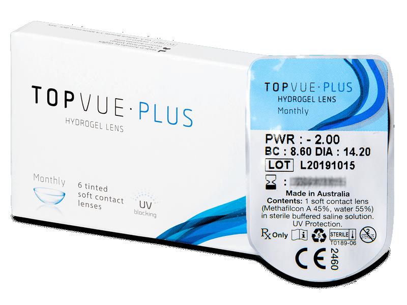 TopVue Monthly Plus (1 lentilă) - Lentile de contact lunare