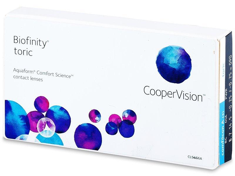 Biofinity Toric (3lentile) - Lentile de contact pentru astigmatism