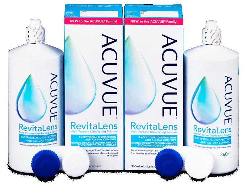 Acuvue RevitaLens Solution 2x 360 ml  - Pachet economic dublu-soluții