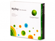 Lentile de contact zilnice - MyDay daily disposable (90 lentile)
