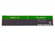 MyDay daily disposable (90lentile) - vizualizare parametrii