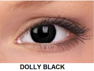 ColourVUE - BigEyes (2 lentile) - Dolly Black