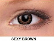 ColourVUE - BigEyes (2 lentile) - Sexy Brown