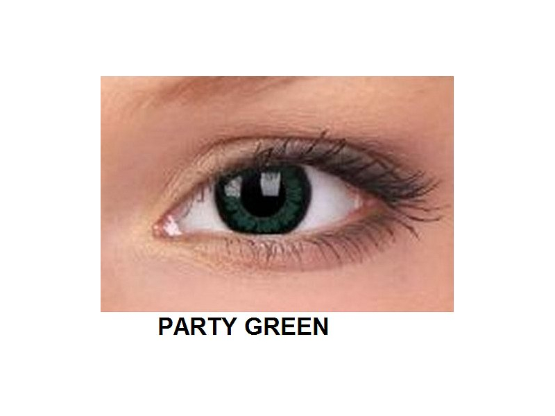 ColourVUE - BigEyes (2 lentile) - Party Green