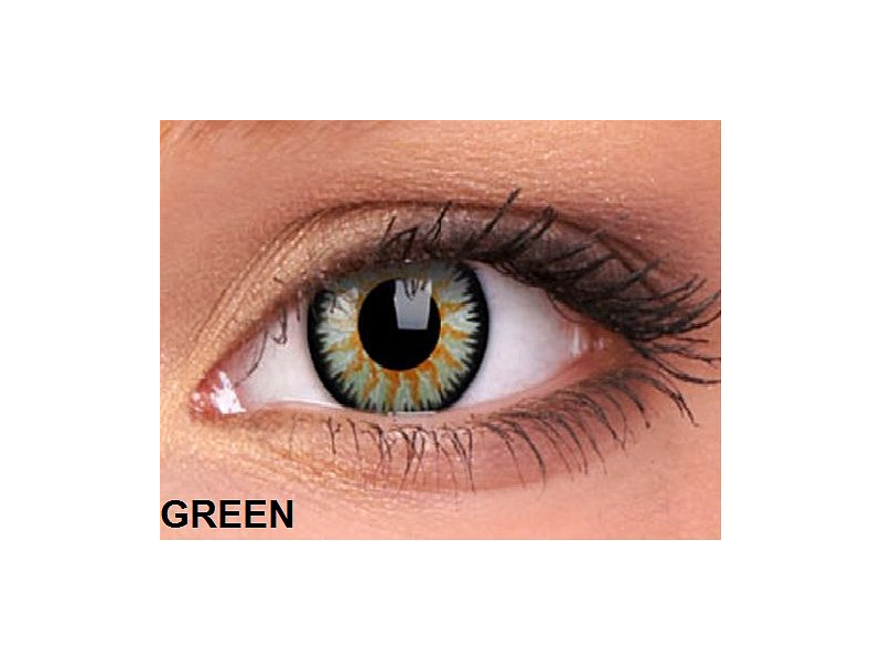 ColourVUE - Glamour (2 lentile) - Green(verde)