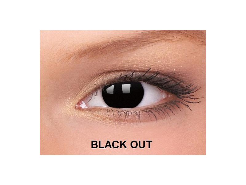 Crazy ColourVUE (2lentile) - Black Out