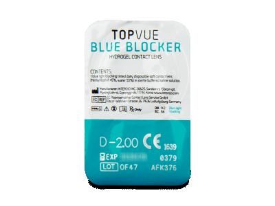 TopVue Blue Blocker (5 lentile) - vizualizare ambalaj